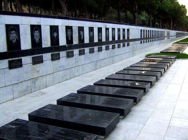«شهید لر خیابانی»، باکو، و قبر های کشته شدگان 20 ژانویه
