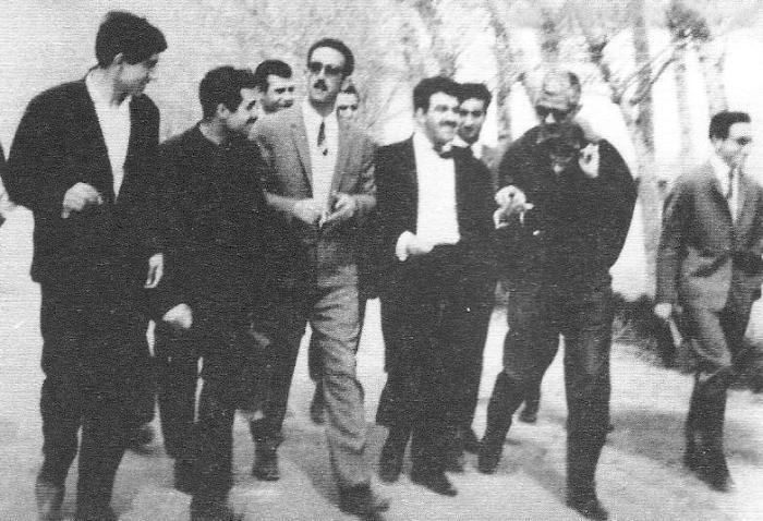 صمد بهرنگی، محمود دولت آبادی، غلامحسین ساعدی، جلال آل احمد