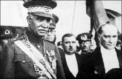 Reza Shah and Ataturk 1934