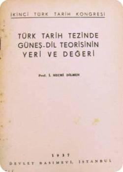 یکی از کتاب های تبلیغاتی ترکیه در سال 1937 برای تبلیغ تئوری تز آفتاب زبان