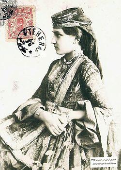 دختر ارمنی اهل اصفهان، دوره قاجار