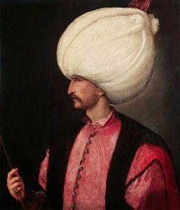 قانونی (محتشم) سلیمان خان، تقریبا سال 1530