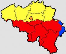 بلژیک سه زبانه