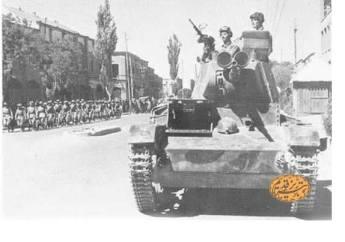 سال 1941: تانک های روسی در تبریز