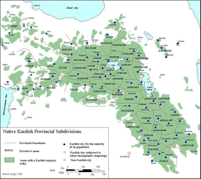 Kurdish Provinces