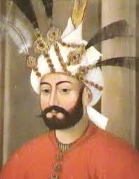 تصویر شاه طهماسب از قصر چهل ستون