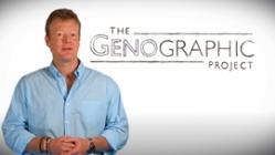 برای اطلاعات بیشتر (به انگلیسی) در باره «پروژه ژنو گرافیک» موسسه نشنل جئو گرافیک روی عکس دکتر اسپنسر ولز کلیک کنید