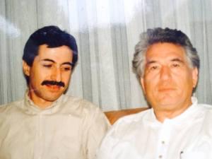 With Aitmatov Munich 1992