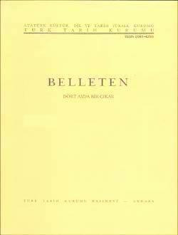 مجله «بلله تن» موسسه تاریخ ترک (1976) که مقاله فاروق سومر در آن چاپ شده بود