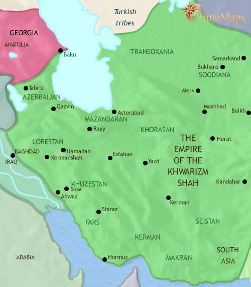 ایران 979 تا 1215 میلادی
