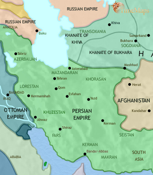 ایران تا 1837 میلادی