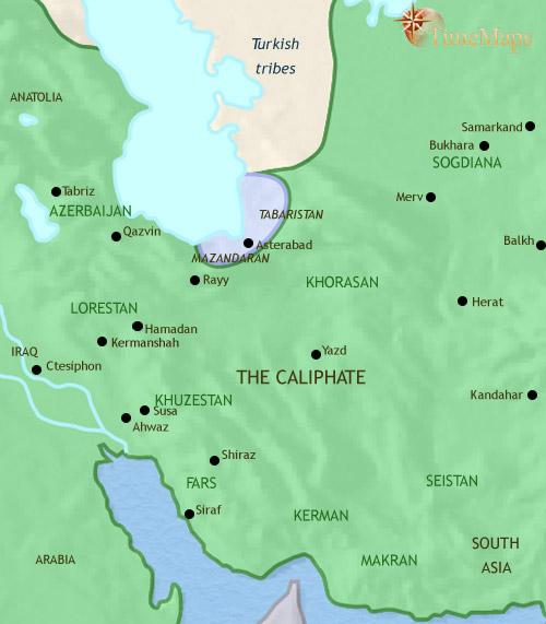 ایرات سال 30 تا 750 میلادی