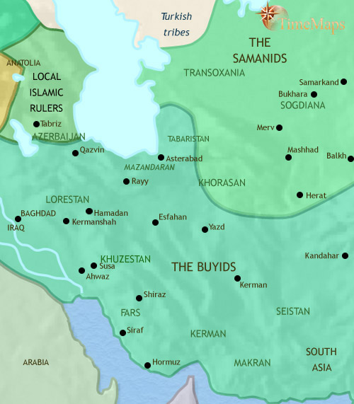 ایران ۷۵۰ تا ۹۷۹ میلادی