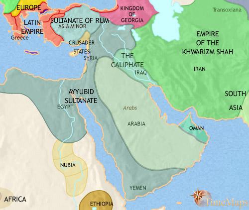سال 1215 بعد از میلاد