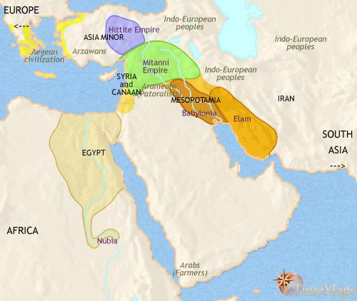 سال 1500 قبل از میلاد