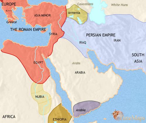 سال 500 بعد از میلاد