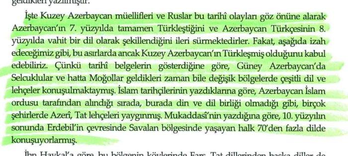 دکتر جواد هیئت: ترک زبان شدن آذربایجان و تشکل ترکی آذربایجان، مجله بررسی های ترکی مدرن، نوامبر 2004