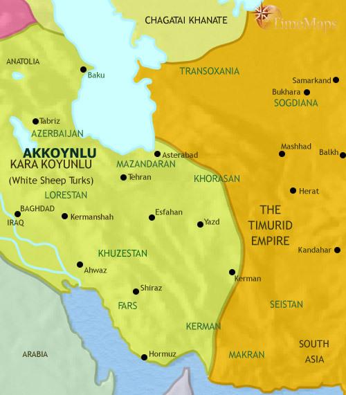ایران 1215 تا 1453 میلادی