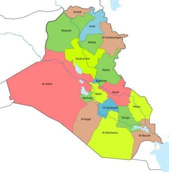 عراق، تقسیم بر سه