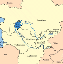 بین النهرین، منطقه آسیای میانه بین جیحون و سیحون و یا آمودریا و سیردریا