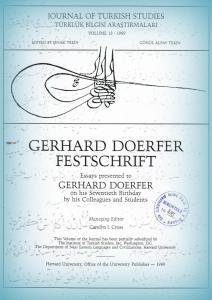 یادنامه پروفسور گرهارد دورفر بمناسبت هفتاد سالگی اش