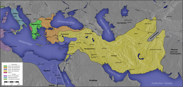 پادشاهی های جانشین اسکندر