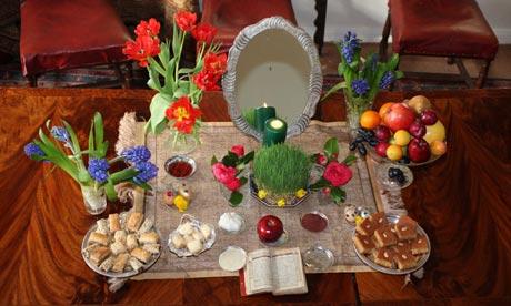 عید نوروز شما و همه خانواده تان مبارک