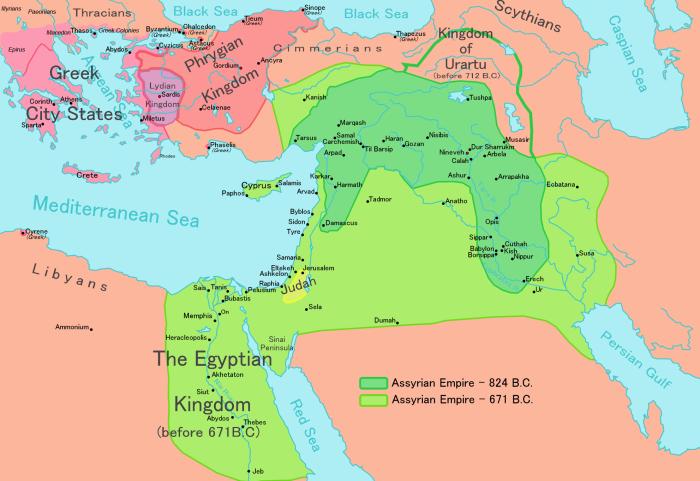 امپراتوری آسور
