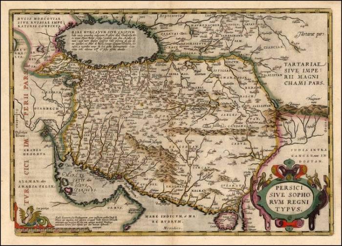Persici Sive Sophorum 1579