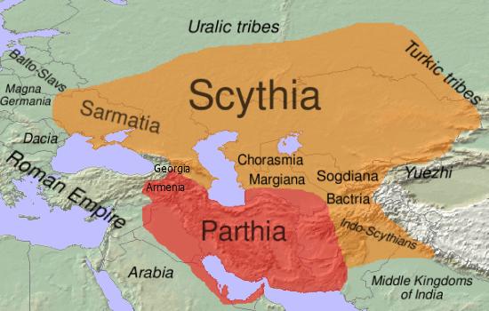 امپراتوری اشکانیان