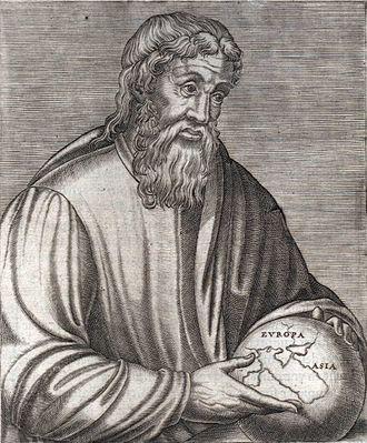 استرابو مورخ یونانی متولد سال 63 و یا 64 در آماصیه (امروزه در ترکیه)