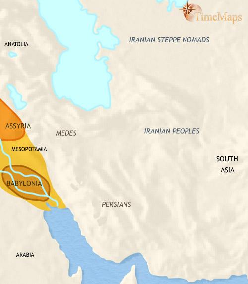 ایران ۱۵۰۰ تا ۱۰۰۰ قبل از میلاد