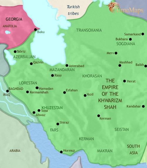 ایران ۹۷۹ تا ۱۲۱۵ میلادی
