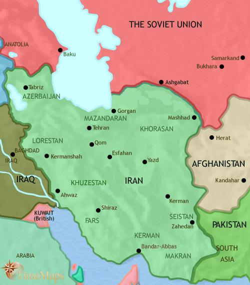 ایران تا ۱۹۶۰ میلادی