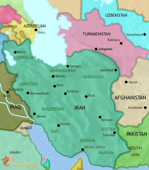 ایران تا ۲۰۰۵ میلادی
