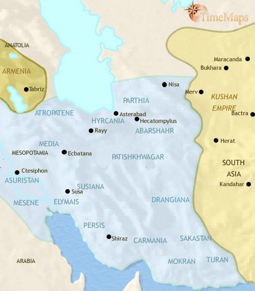ایران ۳۰ قبل از میلاد تا ۲۰۰ بعد از میلاد