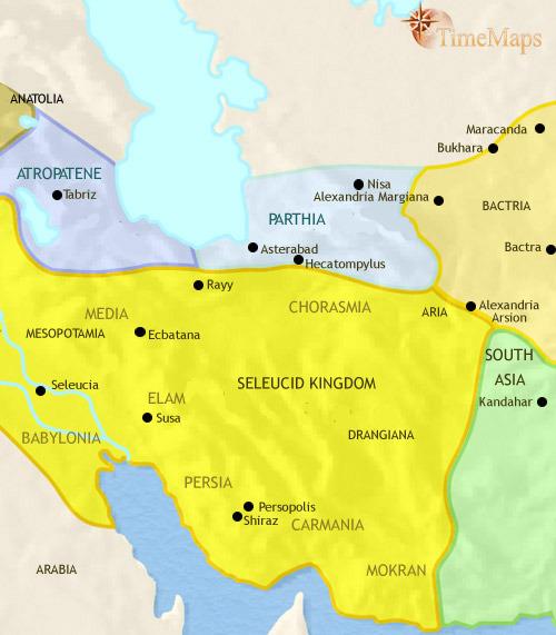 ایران ۵۰۰ تا ۲۰۰ قبل از میلاد