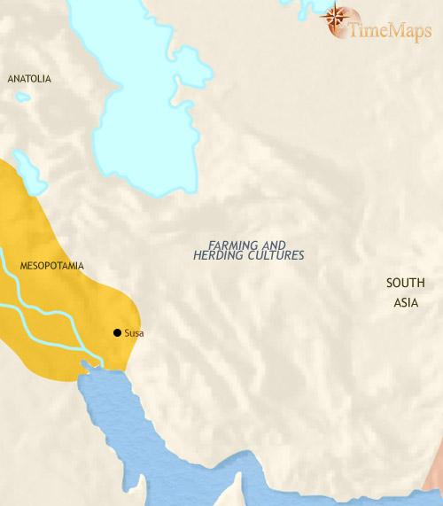 ایران تا ۲۵۰۰ قبل از میلاد