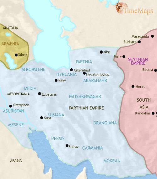 ایران ۲۰۰ تا ۳۰ قبل از میلاد