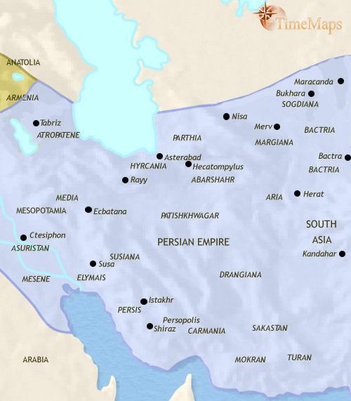 ایران ۲۰۰ تا ۵۰۰ میلادی
