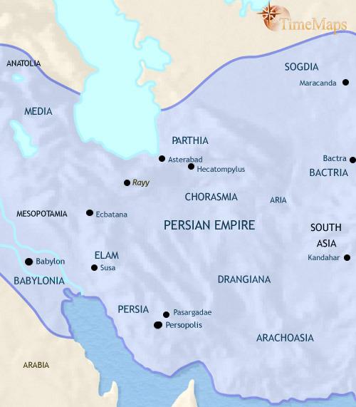 ایران ۱۰۰۰ تا ۵۰۰ قبل از میلاد